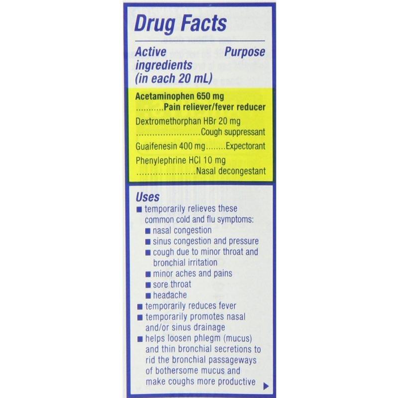 Fast Max Cold Flu Sore Throat Liquid 6 Fl Oz 180 Ml Stayjuve